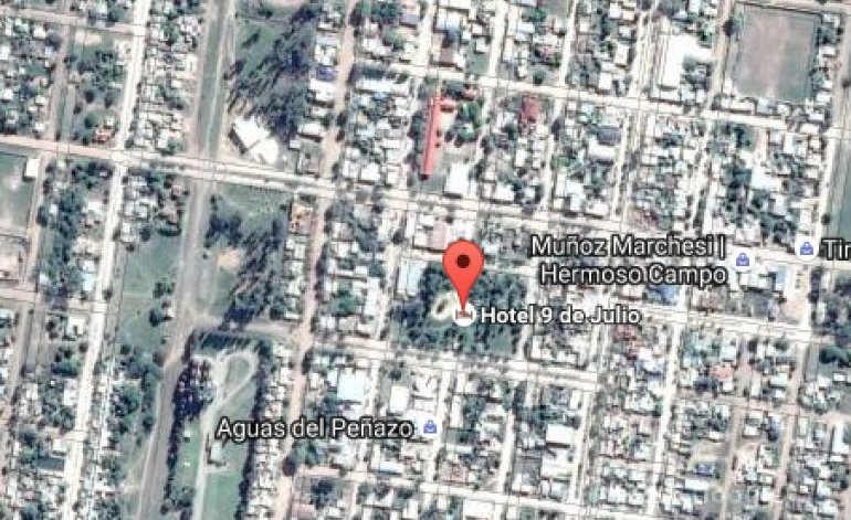 Hoteles 1 Estrella Hotel 9 De Julio - Hermoso campo / Chaco