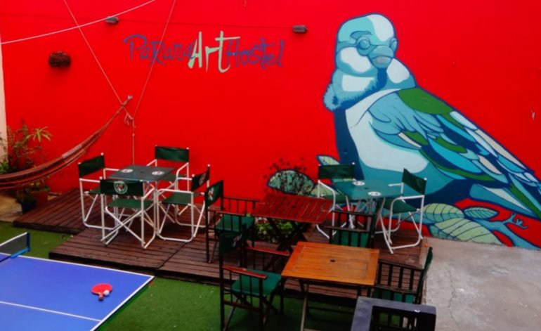 hostel parana art
