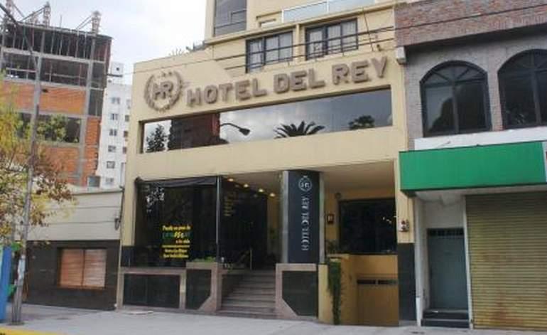 Hotel Del Rey - Hoteles 3 estrellas / La plata