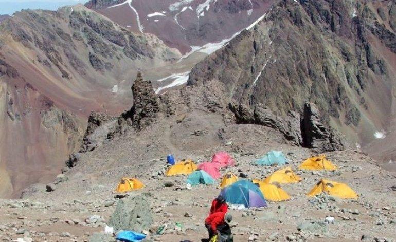 Camping penitentes camping los puquios