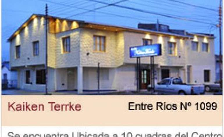 Apart Hoteles Kaiken Terrke - Rio gallegos / Santa cruz