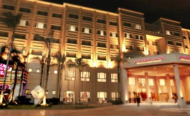 Hoteles 5 Estrellas Amerian Hotel Casino Carlos V - Termas de rio hondo / Santiago del estero