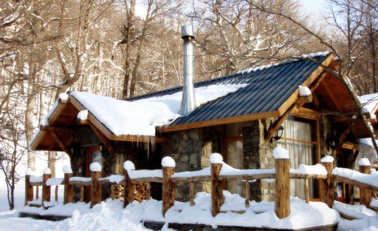 Cabaña Bungalow castor ski lodge
